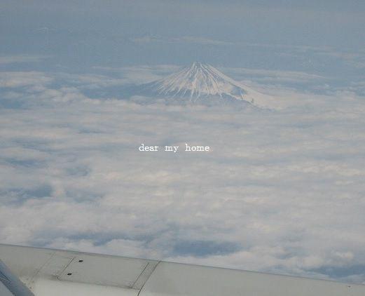 上から富士