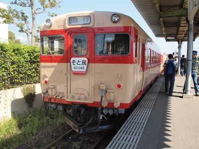 キハ28入線