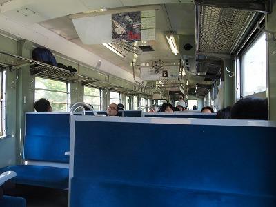 自由席 キハ52に乗車