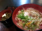 ふなピー魚町銀ぶら☆ 麺処「ぼくの店」小麦不使用のうどん!02