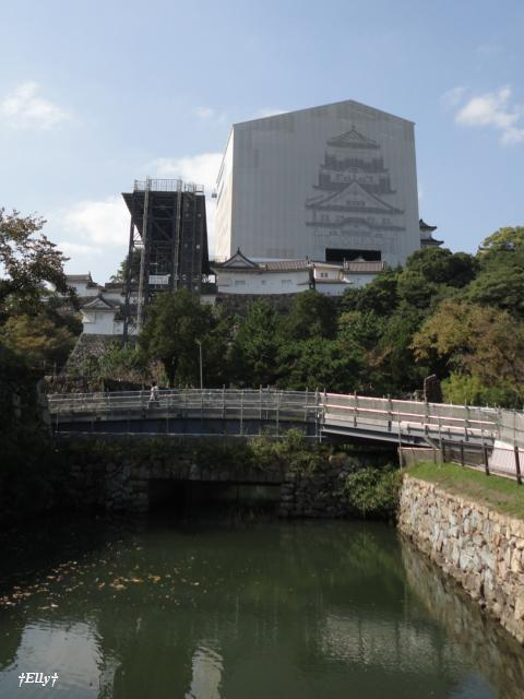 姫路城(改修中)2