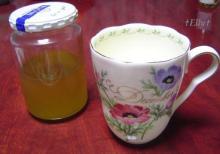 花梨の蜂蜜漬け