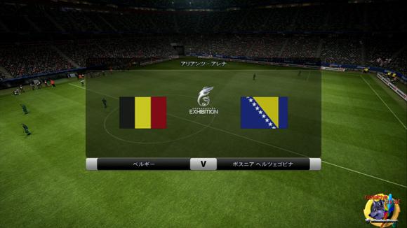 ベルギーVボスニアOP