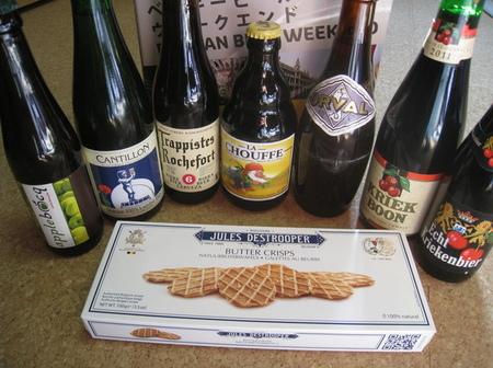 ベルギービール。