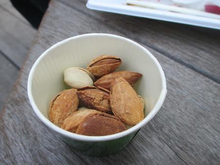 ローストナッツはコイン×1枚。