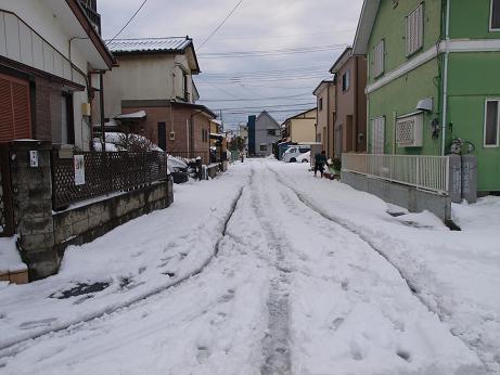 雪景色道路