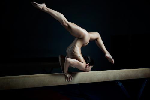 Alicia Sacramone - NUDE in ESPN the Magazine Body Issue 1a