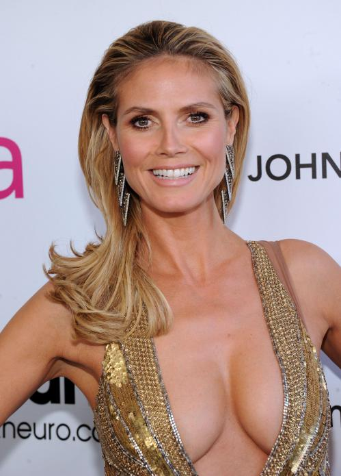Heidi Klum - Elton John AIDS Oscar Party in West Hollywood02