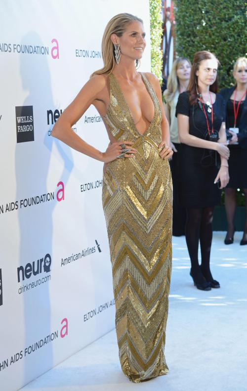 Heidi Klum - Elton John AIDS Oscar Party in West Hollywood11