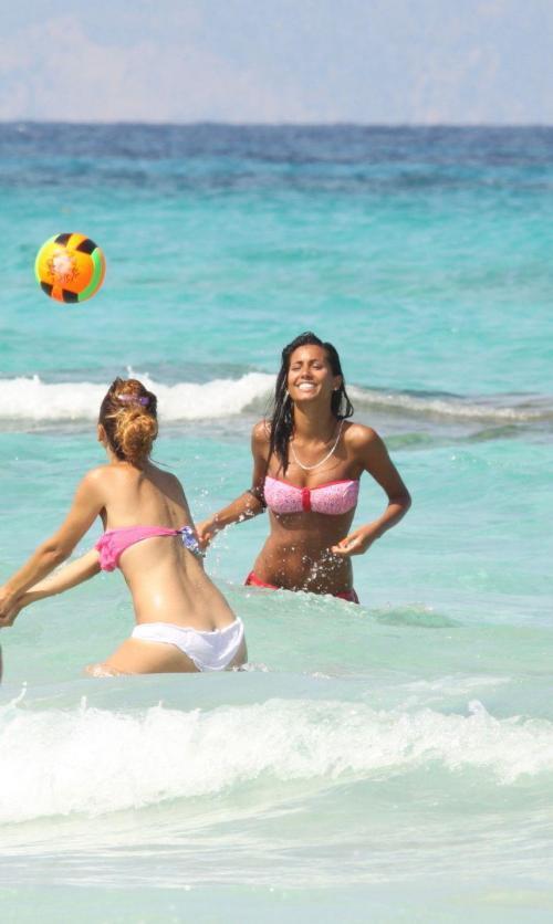 Federica Nargi - bikini candids in Formentera017