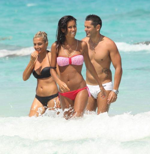 Federica Nargi - bikini candids in Formentera020