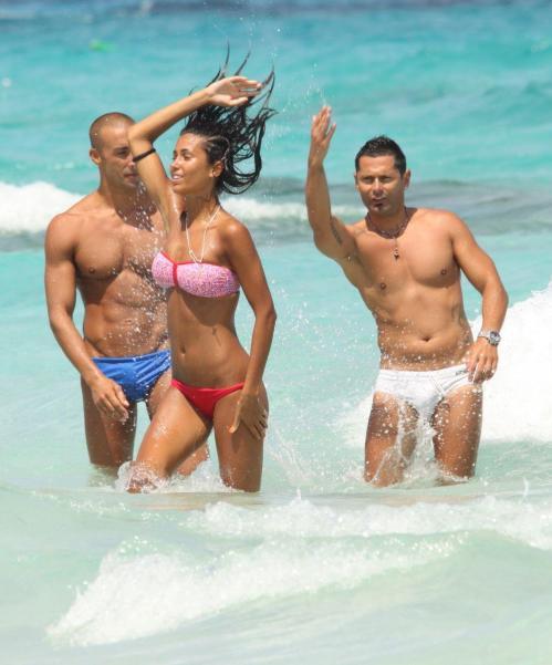 Federica Nargi - bikini candids in Formentera021
