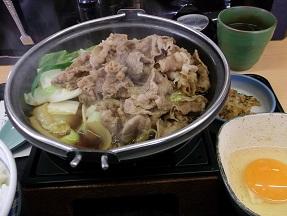 吉野家2014.2.15牛鍋