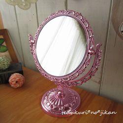 セリア鏡 お色直し2