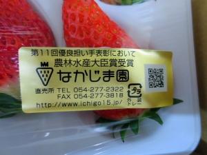 008静岡の美味しいイ大きなイチゴ