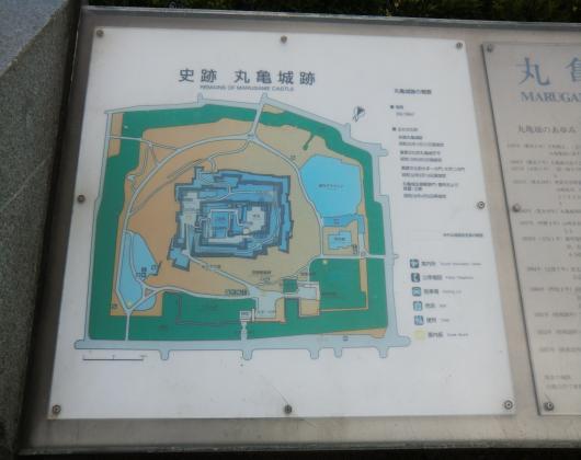 丸亀城説明文