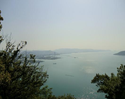 高松港遠望