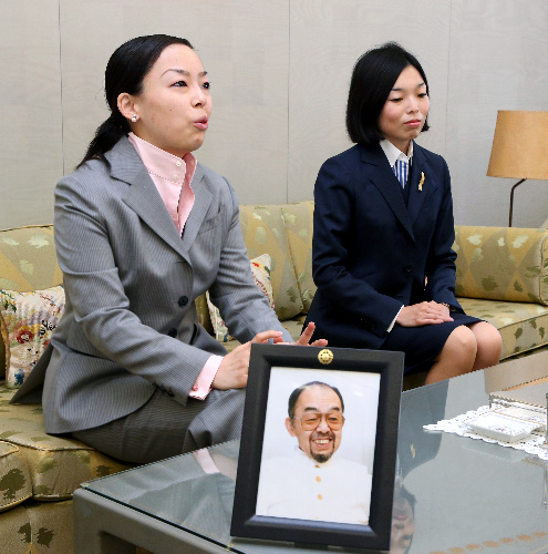 寛仁さまの次女瑶子さま=2009年撮影