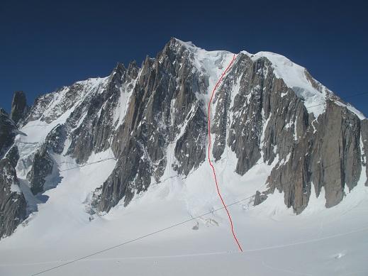ジェルバズッチクーロワール登攀ルート2