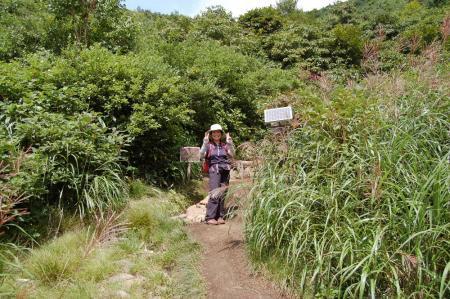 2酸ヶ湯登山口40