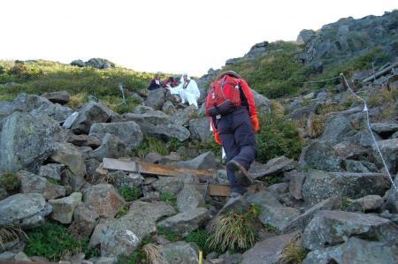 3山頂への登り14
