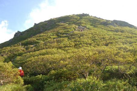 3山頂への登り16