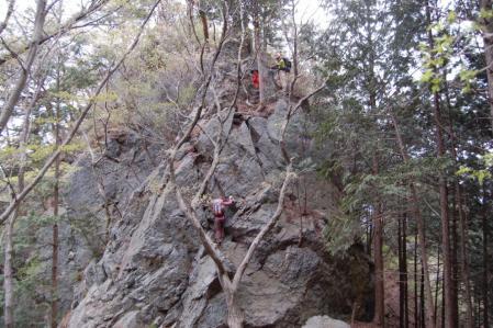 27松島の岩場