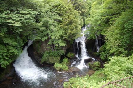 45龍頭の滝