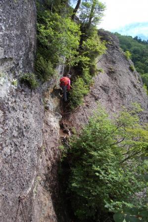 15不動岳・カニの横ばい