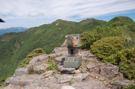 26剣が峰岩峰群・北峰