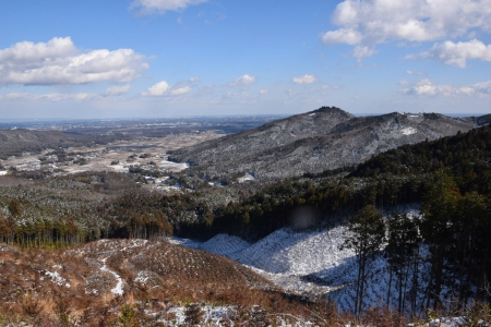 34団子岩付近から下山