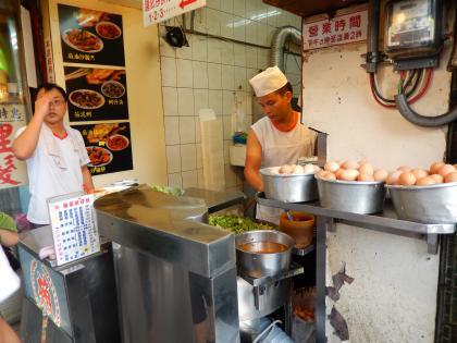 台北2014.7カキの卵焼き