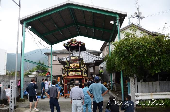 楢木集会所・楢之木屋台蔵 石岡神社祭礼 西条祭り2013 愛媛県西条市