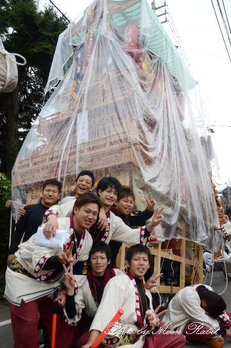 新出屋台(だんじり) 石岡神社祭礼御旅所・渡御行列 西条祭り2013