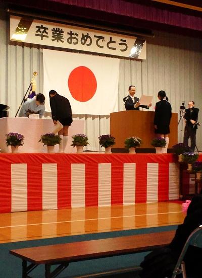 卒業式・京