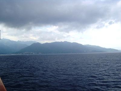 屋久島遠景
