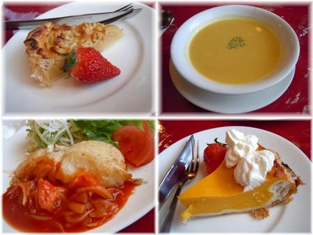 欧風料理レストランで@モンシャーレ(秩父)