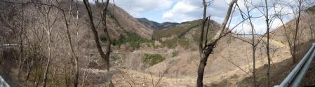 定峰線からの眺望