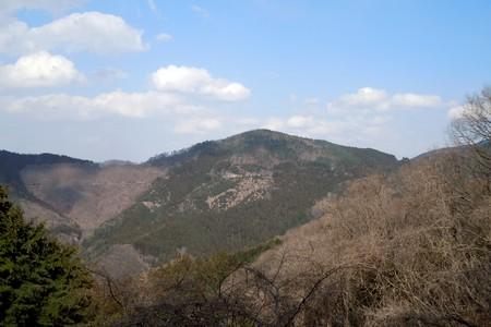 定峰を見ながらの初コース
