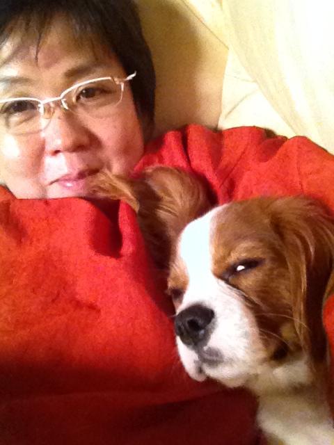 小太郎と寝る
