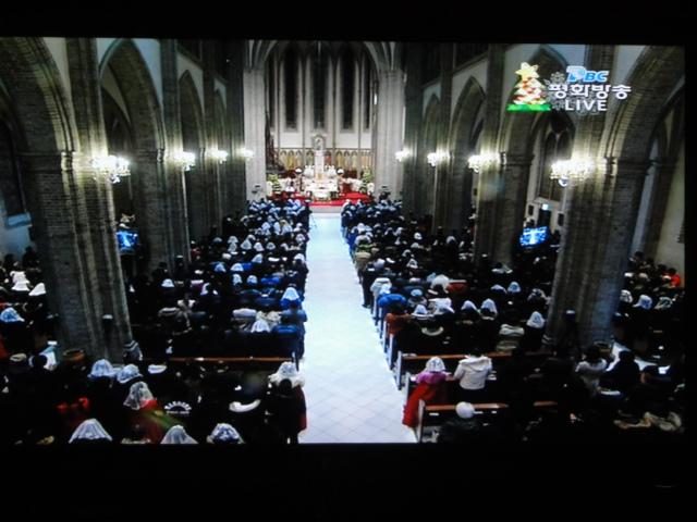 2013年12月25日 明洞聖堂ミサ2