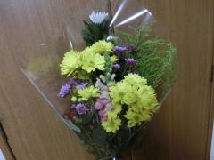 ウニへお花