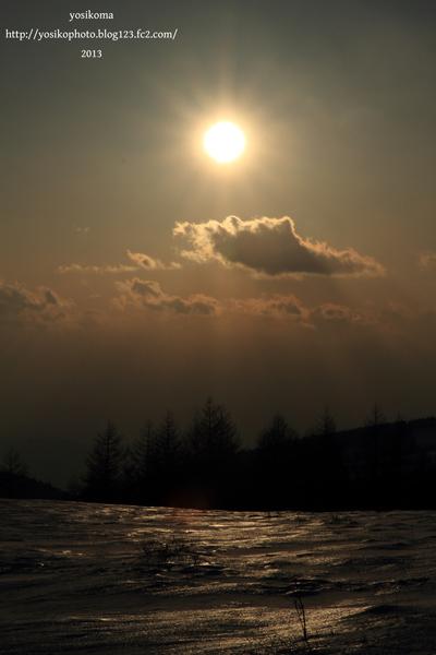 蓼科夕陽3