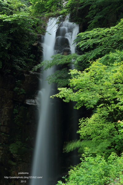 小野の滝2