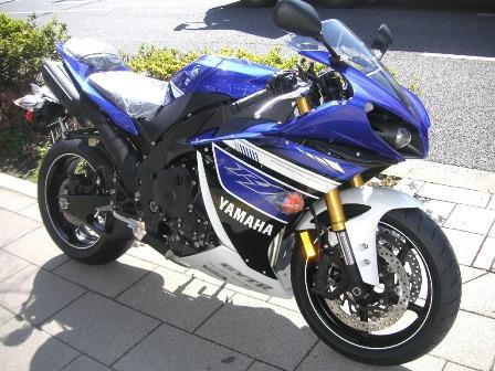 2013YZF-R1ブルー