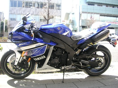 YZF-R1 ブルー