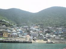 沖ノ島の港