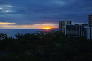 オアフ島の夕日(2)
