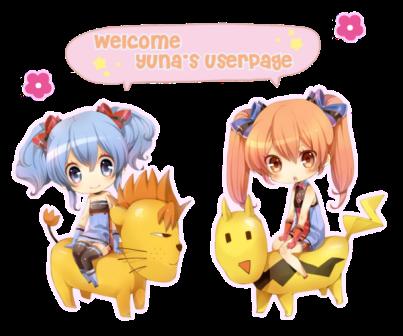 yuna userpage