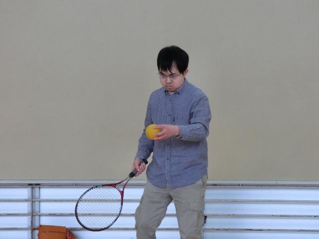 松田くんのテニス